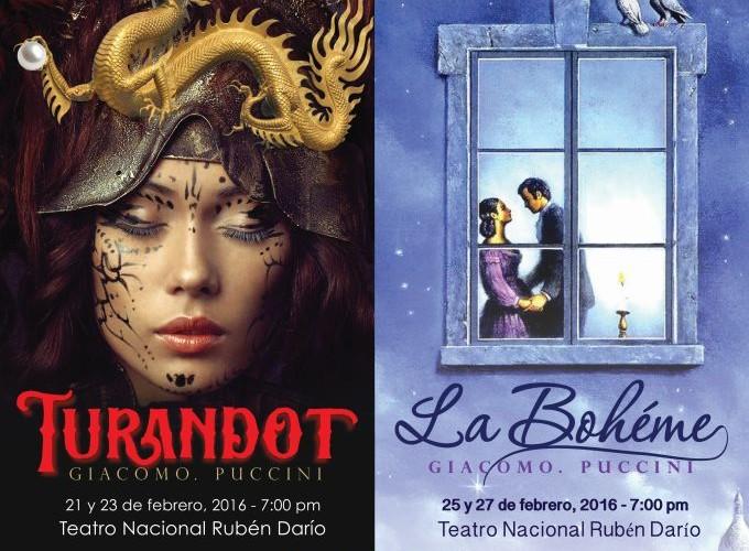 Operas Turandot y La Boheme