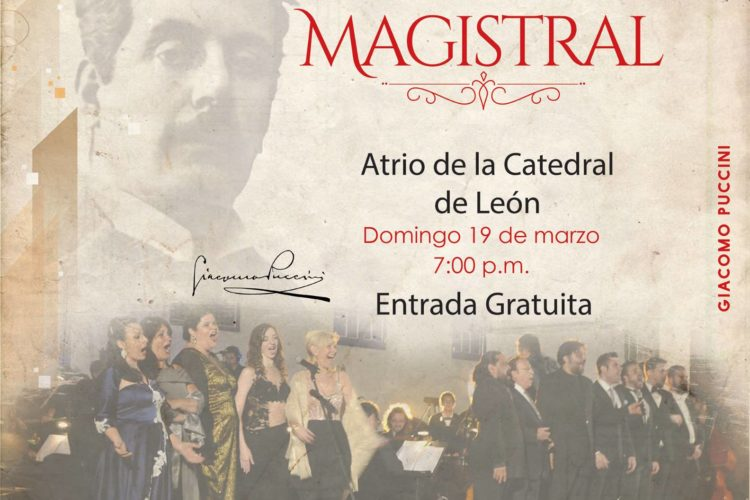 Concierto Magistral en León - 2do. Festival Pucciniano de Latinoamerica