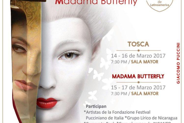 Tosca y Madamma Butterfly 2017