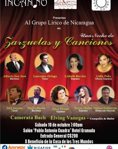 Una Noche de Zarzuelas y Canciones en la Casa de los Tres Mundos