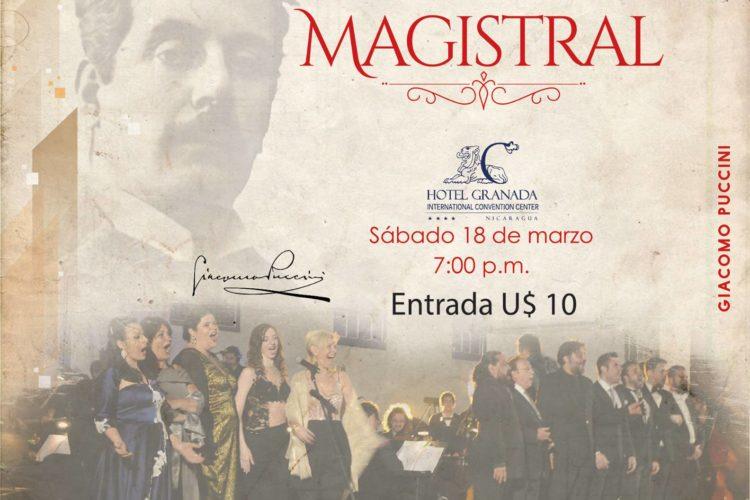 Concierto Magistral en Granada - 2do. Festival Pucciniano de Latinoamerica